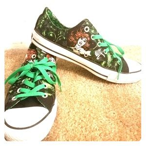 Converse 'Poison Ivy' tenneshoes